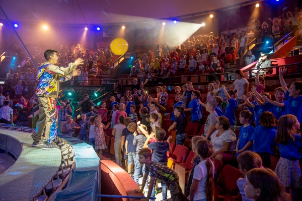 Frenetic happiness in the Capital Circus of Budapest