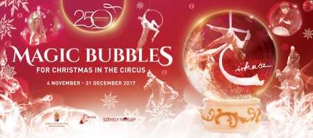 Because of the great success, MAGIC BUBBLES for Christmas in the Circus will be on show for one more day!