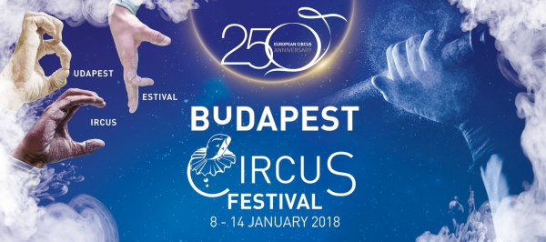 Arrival of the artists on the 12th Budapest Circus Festival