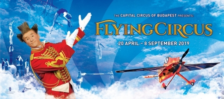 We hold the premiere of FlyingCircus today, on World Circus Day!