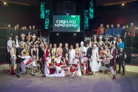 "Breaking News … Hungarian State Circus – ""Neighbouring Circus"" show"