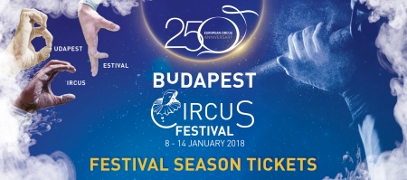 Buy Season Tickets for the 12th Budapest International Circus Festival!