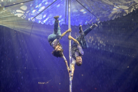 In this circus floor the audience is closer to you - Duo Funcoholics interview