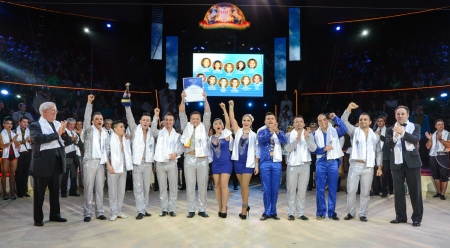 Winners of the XI. International Circus Festival of Budapest