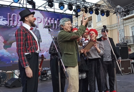 A new Hungarian success in the Comediada Clown and Mime Festival of Odessa!